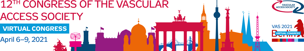 12th Congress of the Vascular Access Society, April 7 - 10, 2021, Berlin